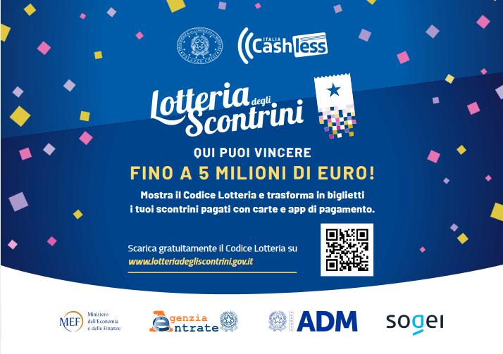 lotteria scontrini scontrino senza registratore di cassa